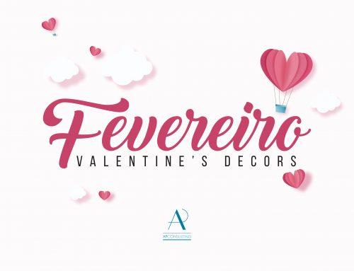 4 inspirações para a sua decoração do Dia dos Namorados