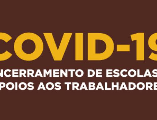 Covid-19 | Encerramento de Escolas e Apoios aos Trabalhadores