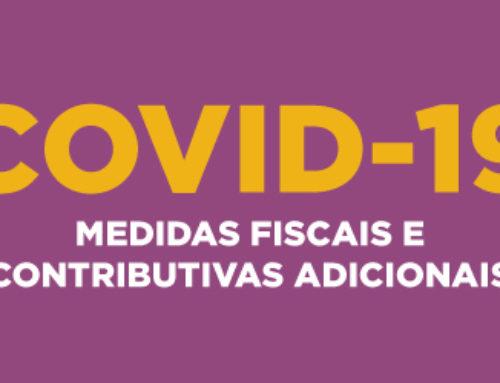 Covid-19 | Medidas fiscais e contributivas adicionais
