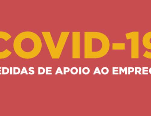 Covid-19 | Medidas de Apoio ao Emprego – Atualização